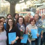 Gratulation an die Prüflinge (m/w) in Koblenz